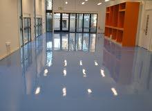 أرضيات ضد البكتيريا ايبوكسي/ إيبوكسي - مخازن مصانع معامل مصحات ومستشفيات بركيدجو فقط