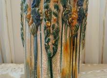 لهواة التحف فازة كابي دي مونت حجم كبير تحفة صناعة يدوي عمراكثرمن150عام