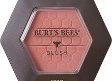 بلشر، أحمر خدود وردي ماركة Burt's Bees الأمريكية
