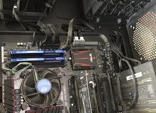 كمبيوتر  تفصيل استعمل قليل  سعر الشراء 4800  سعر البيع 2500  مع شاشه وكبيورد  وماوس