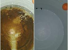 تنظيف الخزانات المياه وتعقيم وتطهير الخزانات المياه وتركيب والخزانات وتصليح