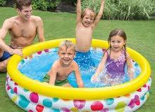 بركة سباحة للأطفال 58449 Intex قياس 168 × 38 سم