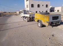 قلاب مترين نقل مواد البناء والطمم وتحميل وتنزيل