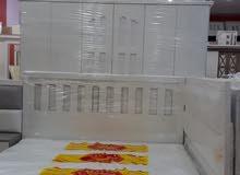 غرف نوم جديده جاهزه للتركيب مباشرة للزبون وطني 6قطع السعر 1300 مع التركيب والتوص