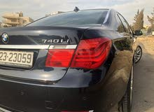 For sale BMW 740 car in Amman