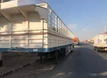 تريله مقطوره للبيع الطول 15 متر العرض 2ونص متر trailer for sale 15m In 2.5m