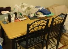 طاولة ماليزي +4كراسي