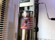 churros machine مكينه وروز مع مقلاية كهربائيه