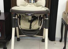للبيع كرسي طعام للأطفال نوعية (Graco ) بحالة ممتازة