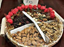 Nice and healthy nuts avalable with beautiful decoration