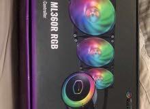 مبرد cooler master masterliquid ml360r rgb جديد