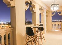 دبي فيستيفال سيتي غرفة وصالة مفروشة مع بلكونة - شهري شامل