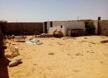 قطعة أرض للبيع 300م في وادي الربيع ( النعم )مسورة بالكامل