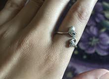 خاتم فضه اصلى مختوم بختم الفضه