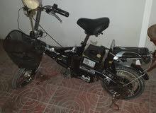 سكوتر كهربائي +دراجه هوائيه