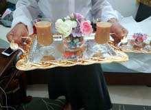 خدمه سيرفس شاي وقهوة