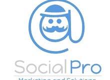 كل من يبحث عن شركه تسويق social media نحن بالخدمه:)