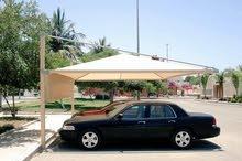 متخصصون في تفصيل مظلات السيارات