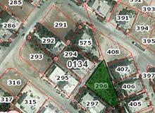 قطعة ارض للبيع 1039م في الجويدة