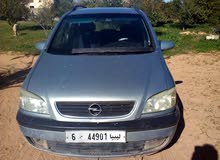 +200,000 km Opel Zafira 2001 for sale