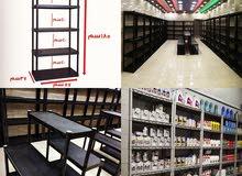 أرفف بلاستيك لدنيا جميع الأنواع الأصيل و الجمل اقل الإسعار في سوق الأردني