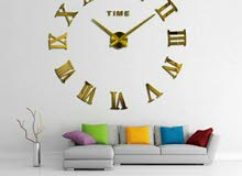ساعة حائط حجم كبير قمة بالروعة و الفخامة