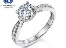 خاتم ( الماس ) على حسب الطلب