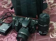 كاميرا كانون مع عدستين للبيع