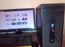 كومبيتر مكتبي كور اي 7 مع شاشة بلازمة جيد للبيع