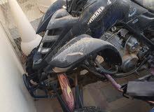 دراجه رابتر نظيفه تحتاج الى اطارات امامي فقط