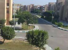 شقة 87م  للبيع شارع ابو بكر الصديق المنطقة الثانية مدينة السادات