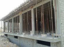 مبني تجاري جديد  بادرووم و محلات علي الشارع الرئيسي