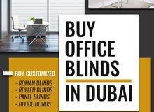 Curtains Blinds Dubai  Find Office Blinds in Dubai