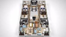 شقة 107 متر التجمع الخامس بتسهيلات فالسداد حتى 72 شهر