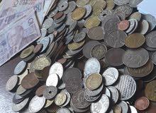 نقود أوراق وقطع مغربية وأجنبية