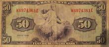 vente 50 Deutsch Mark  1948