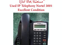 For Sale Used Nortel IP Phone 2001 Excellent Condition