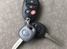ريموت كامري مع اثنين مفتاح وكاله يركب من 2007 الى 2011