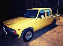 Gasoline Fuel/Power   Toyota Hilux 1983
