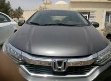Automatic Grey Honda 2018 for rent