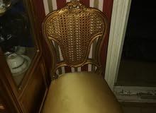 دفايه و 2 كرسي ذهبي