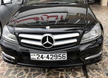 Black Mercedes Benz C 250 2013 for sale