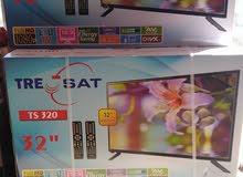 وصول شاشـه 32 TRE SAT LED   Full HD 1080 2 مدخل HD 2 مدخل USB 2 ريموت ، وقا