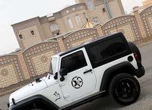 For sale 2012 White Wrangler
