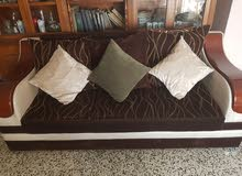 قنفات تركيه مستعمل 10مقاعد السعر 750للجادين فقط و بيه مجال
