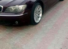 BMW 740 2006 For sale - Maroon color
