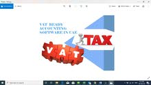 VAT supported Accounting Software is available for sale