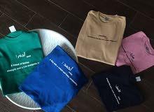 قمصان الأسامي متوفر بعدة قياسات و الوان مختلفة