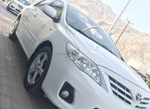 للبيع كرولا 2011 أو للبدل مع سياره فورويل