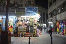 للبيع محل بالمباركية - مدخل السوق-موقع مميز شارع الغربلي على ناصيتين